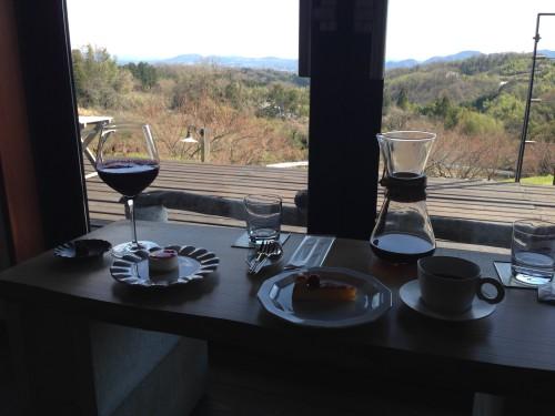 見晴らしの良い景色の隠れ家カフェ。 休暇小屋 岐阜県美濃加茂市。