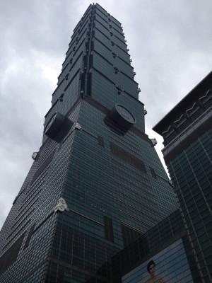 「台北101」へ。台湾① (1日目)