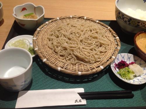 関東風そばをおしゃれに食す。 手打ちそば 大石 名古屋市東区