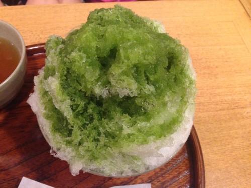 赤福のお店が作るかき氷。 赤福茶屋 名古屋市中村区