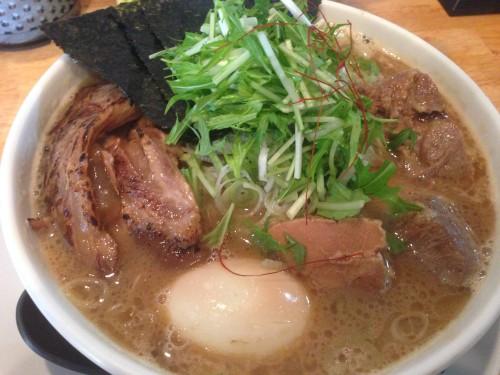白えび濃厚スープ。 麺屋 白神 岐阜県関市