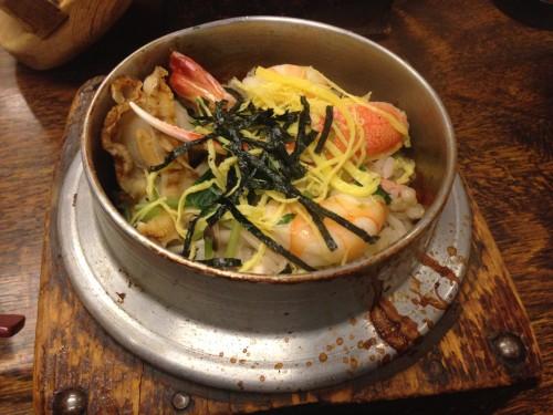 具がたっぷりのあっさり釜飯。 日栄 愛知県小牧市