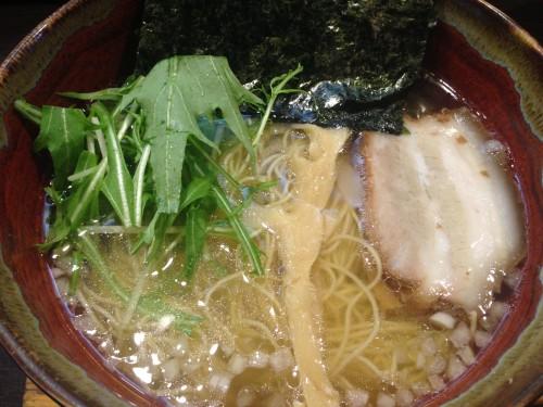 魚介の旨味たっぷりあっさりスープ。 麺彩ぎんや 愛知県小牧市