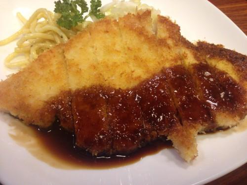 珍しい焼とんかつのお店。 キッチンたいら 名古屋市千種区