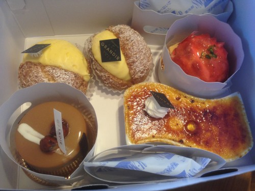 シュークリームがおすすめ。 グランディール 岐阜県多治見市