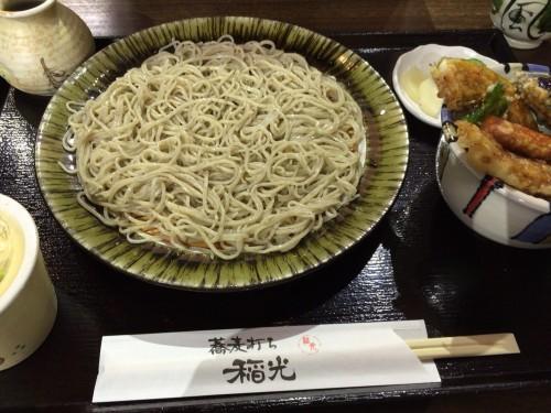 紗羅餐系の蕎麦屋。 稲光 愛知県小牧市