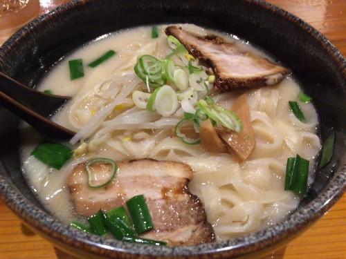 もっちり刀削麺。 刀削麺 喜祥 岐阜県各務原市