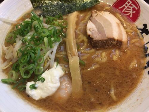 海老の香り満載らーめん。 麺彩ぎんや 愛知県小牧市