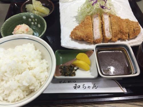 とんかつ和ちゃん②1