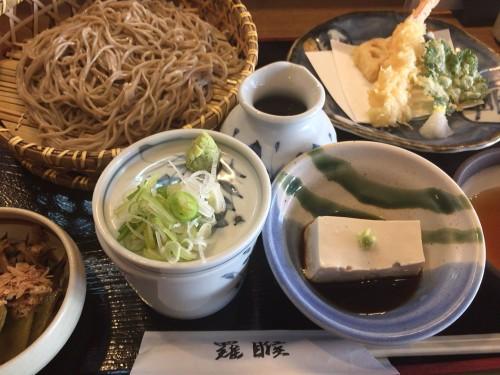 豆腐が美味しい蕎麦屋。 らご 岐阜県多治見市