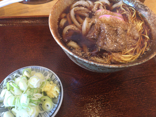 薪窯で茹でる自家製麺。 めん処 にしむら② 愛知県春日井市