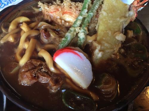 正統派味噌煮込みうどん。 かに屋 愛知県一宮市