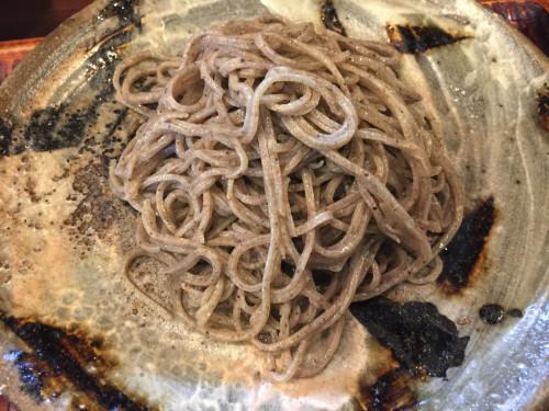 お気に入りの助六で田舎蕎麦を食す。 助六② 岐阜県関市