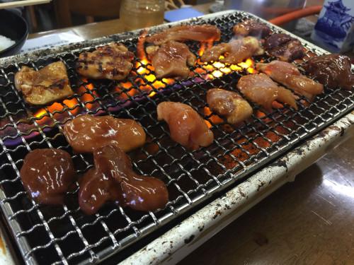 松阪市で鶏焼き肉を食す。 前島食堂 三重県松阪市