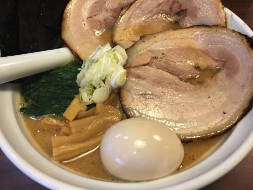 完成度の高い濃厚スープ。 らーめんNageyari 岐阜県各務原市
