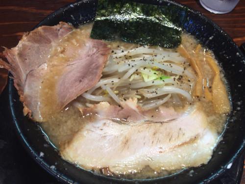 極太ドラゴン麺。 麦笑 名古屋市天白区