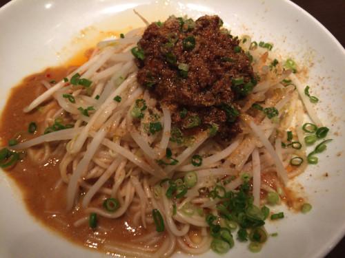汁なし担々麺。 上海湯包小館 名古屋市中区