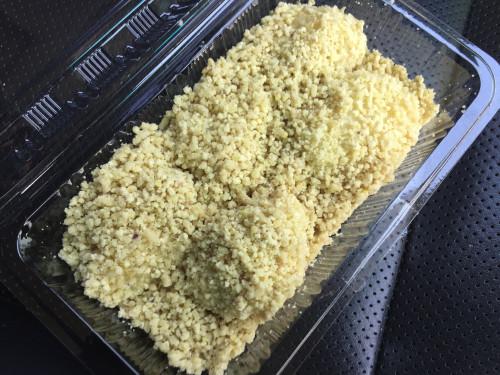 消費期限2時間の栗粉餅。 大津屋 岐阜県恵那市