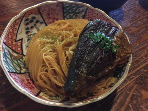 名物焼鯖素麺 翼果楼(よかろう) 滋賀県長浜市