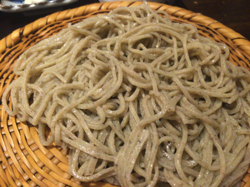 本格蕎麦と鳴門金時芋のおこわご飯 喜八 名古屋市南区
