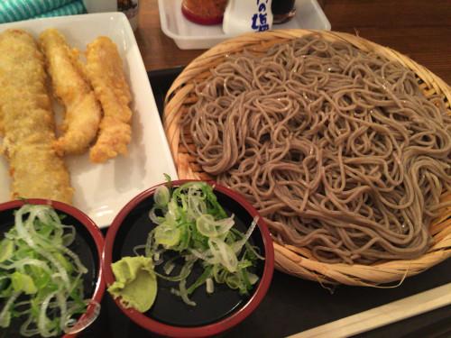 ボリュームたっぷり錦の蕎麦屋。 えんそば錦二丁目店 名古屋市中区