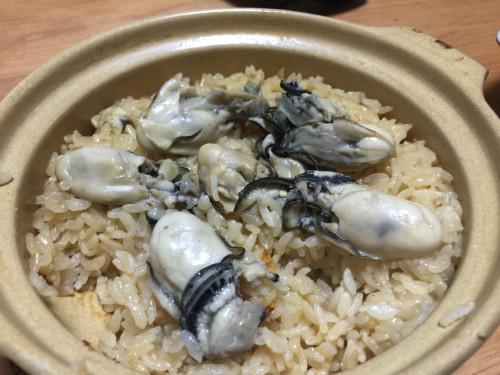 簡単チャチャっと牡蠣ご飯&牡蠣汁&牡蠣のオリーブオイル漬け。