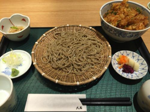 せいとかき揚げ丼セット 大石② 名古屋市東区